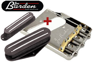Joe Barden Combo: Gatton, Modern T or Nashville Set Plus Tele Bridge