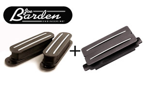 Joe Barden Custom HSS Strat Set