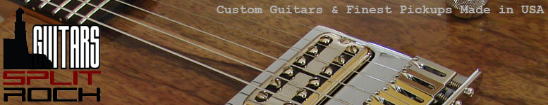 SplitRock Guitars, Joe Barden Pickups, Railhammer Pickups, Tele Bridges